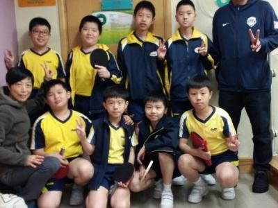 男子乒乓球隊